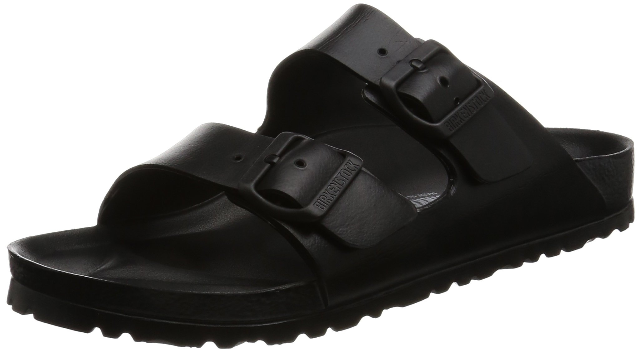 Birkenstock Unisex Arizona Essentials EVA Black Sandals - 40 N EU / 9-9.5 2A(N) US