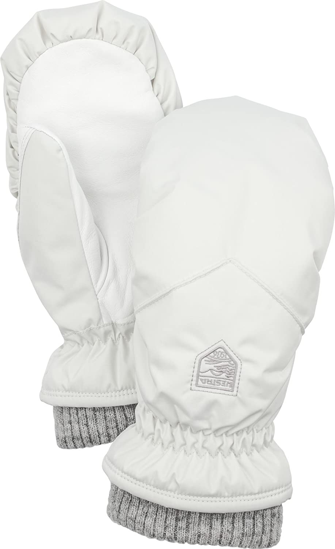 Hestra Womens Warm Gloves Primaloft Rib Knit Ski and Winter Mittens