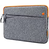tomtoc 10.5-11 inch Tablet Sleeve Bag Fit for 2018 11 inch New iPad Pro | 10.5 iPad Pad | 9.7 inch iPad | 2018 Surface Go | Samsung Galaxy Tab, Fit for Apple Pencil & Smart Keyboard, Accessory Pockets