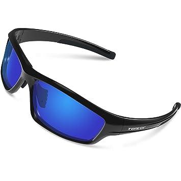 Herren Sonnenbrille, Besfia Polarisierte Sport Sonnenbrille UV400 Outdoor Sportbrille für Fahren Baseball Angeln Golf Laufen Fahrrad