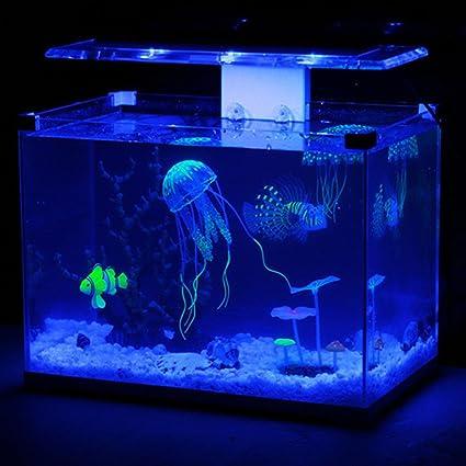 nisels LED luz pecera acuario resplandor efecto acuario peces medusas: Amazon.es: Bricolaje y herramientas