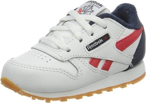 Reebok Classic Leather, Basket Mixte Enfant: