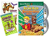 The Richie Rich/Scooby-Doo Show DVD Scooby Sticker & Trading Card Cartoon Deluxe Set