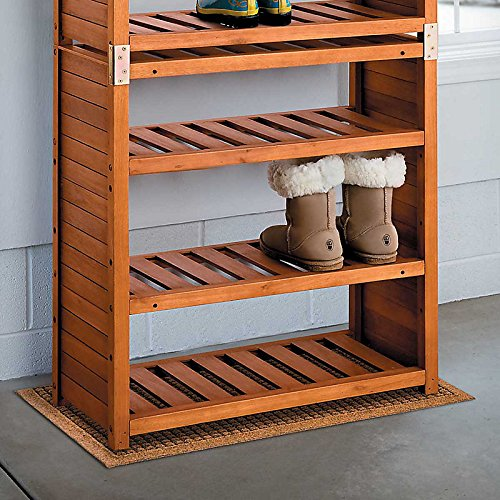 Eucalyptus Shoe Rack by HomeAXCESS