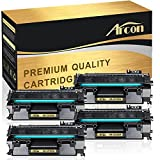 Arcon 4 Pack 05A CE505A Compatible 05A Toner Cartridge Replaces for HP 2035 HP 05A CE505A HP Laserjet P2055DN P2035N P2055D P2055X Laserjet P2055 P2035 P2030 P205 2035 2055 Toner Ink Black