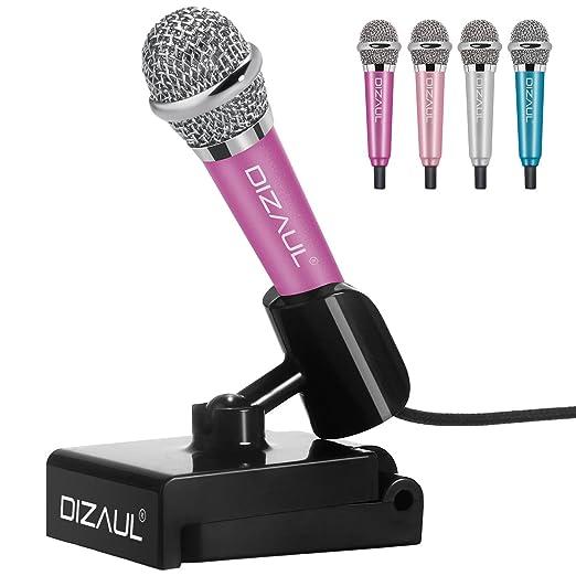 48 opinioni per Mini microfono, dizauL ® più piccolo più elegante palmare mobile Karaoke