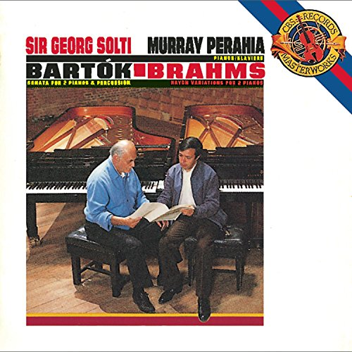 Bartók: Sonata for Two Pianos & Percussion / Brahms: Variations on a Theme by Joseph Haydn for 2 Pianos, Op. 56b