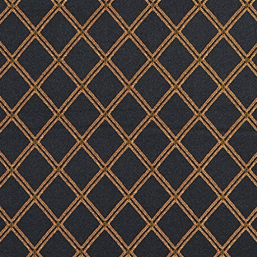 Black and Gold Fabric: Amazon.com