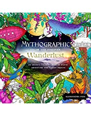 Mythographic Color and Discover: Wanderlust: An Artist's Coloring Book of Exotic Adventure and Hidden Objects: 1