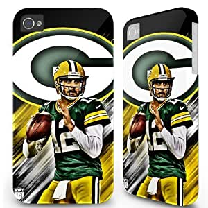 5.5 inch Iphone 6 Plus 6plus Hard Case Cover - Sports team Greenbay Packers Aaron -04