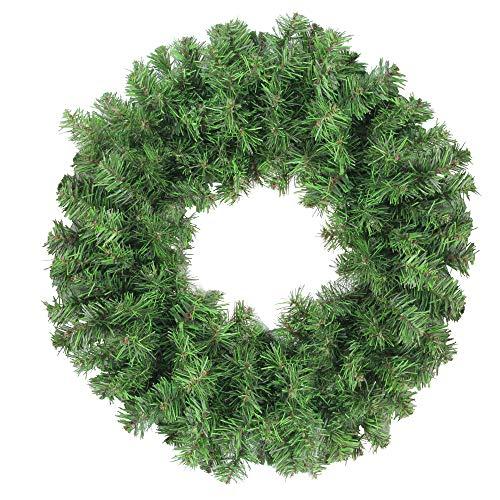 - Northlight Colorado Spruce 2-Tone Artificial Christmas Wreath, Green