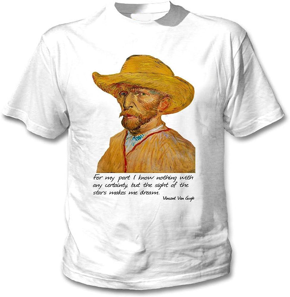 teesquare1st Van Gogh Vincent Camiseta Blanca para Hombre de ...