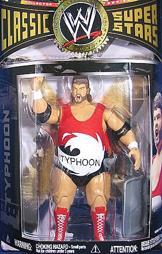 WWE Wrestling Classic Superstars Series 17 Action Figure Typhoon