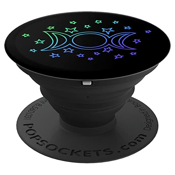 Triple Moon Goddess symbol - PopSockets Grip and Stand for Phones and  Tablets