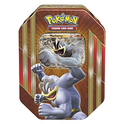 Pokemon TCG: Triple Power Tin (Machamp) Toy: Toys & Games