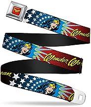 Buckle-Down Seatbelt Belt Wonder Woman Regular
