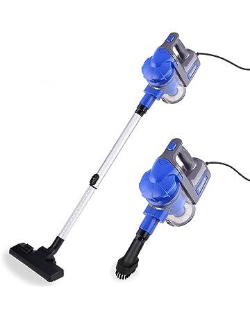 Kranich Aspiradora portatil para casa Mano y Vertical aspiradoras Manual sin Bolsa 2 en 1 Limpiador