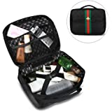 Beatfull Designer Bee Cosmetic Case Portable Travel Makeup Cosmetic Bags  Organizer Toiletry Bags for Women 6d75ad0b9a468