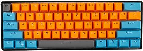 YQYL Teclado GK61 Teclado Personalizado mecánica de ...