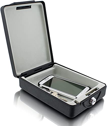 Amazon.es: MS-Point Viaje Safe Auto Caja Fuerte láser para ...