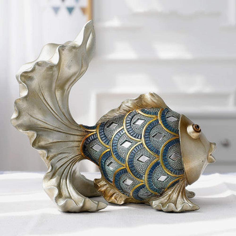 灰皿, 金魚のリビングルームのベランダベッドルームの卓上装飾家の結婚の贈り物3