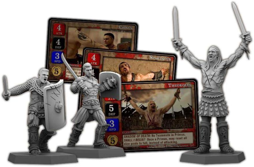 Spartacus : The Shadow Of Death *ingles*: Amazon.es: Juguetes y juegos