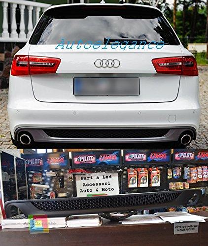 /2014/Trasera Difusor Look S6/sline Bajo Parachoques Audi A6//°C7/4/G 2011/