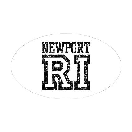 Amazon Com Cafepress Newport Ri Oval Bumper Sticker Euro Oval Car
