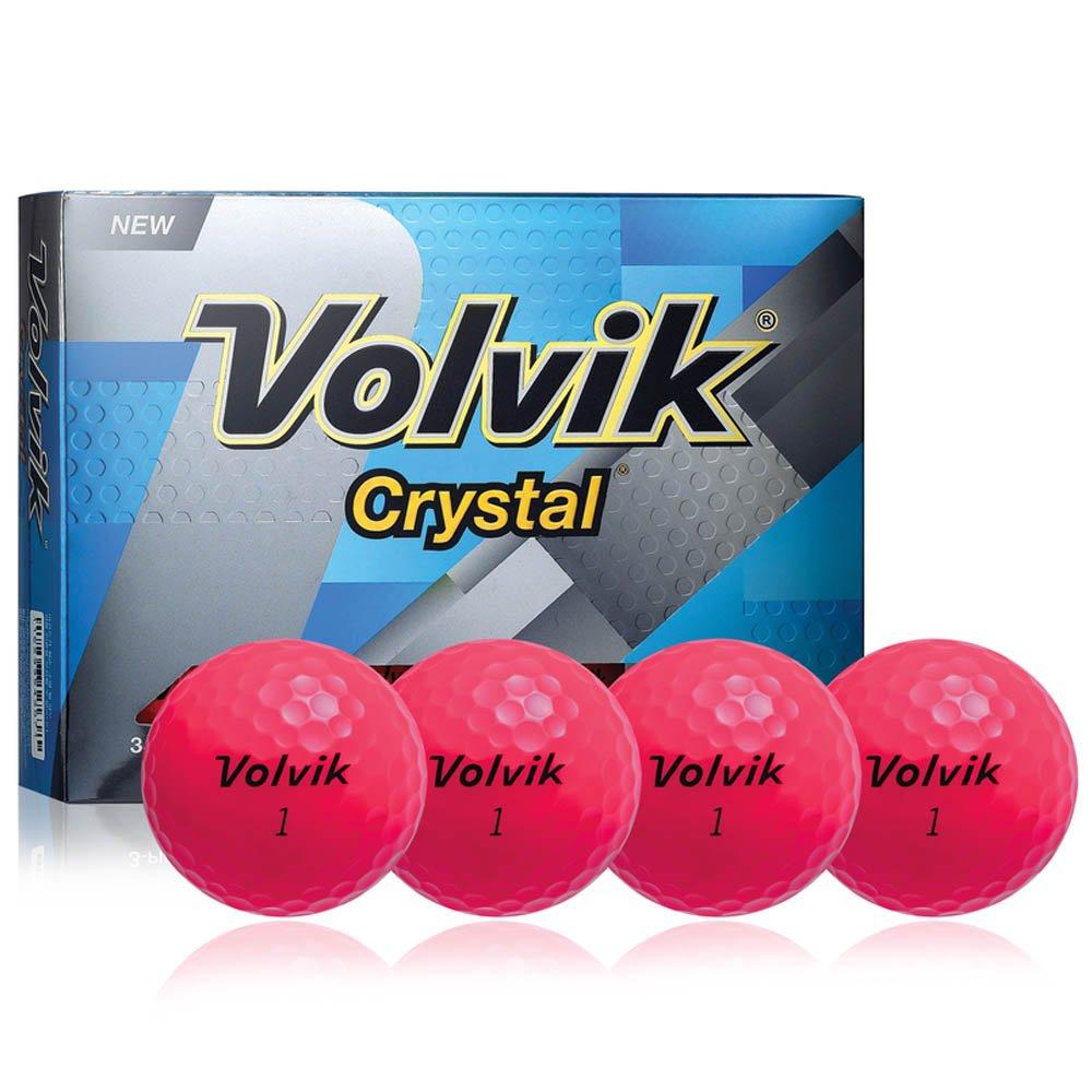 Volvik 2016 Golf Balls (Dozen), Crystal Pink by Volvik