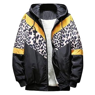 ... Engrosado Chaqueta Caliente Cremallera Outwear Capa Blusa Superior Chaquetas Abrigos Hombre Invierno Largos Tallas Grandes: Amazon.es: Ropa y accesorios