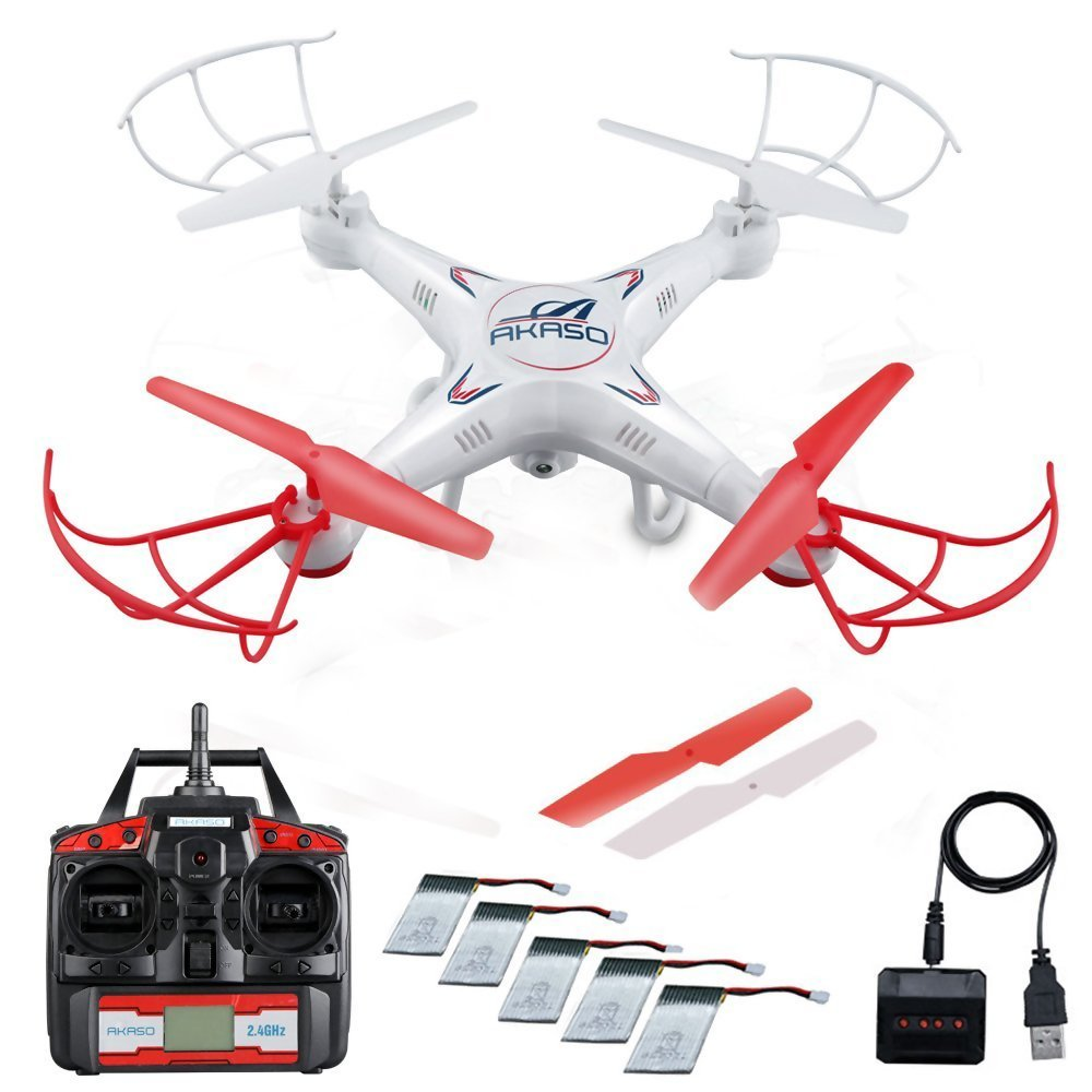 Home gt artificial florals gt holidays gt 60 quot poinsettia amp berry garland - Amazon Com Akaso X5c Quadcopter 2 4ghz 4 Ch 6 Axis Gyro Rc Drone Hd Camera Bundle With Battery And Charger Toys Games