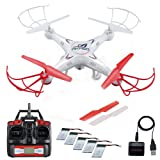 AKASO X5C Quadcopter 2.4GHz 4 CH 6 Axis Gyro RC