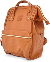 Anello Leather Square Shaped Backpack