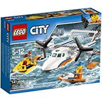 LEGO City Coast Guard Sea Rescue Plane 60164 Building Kit...