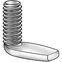 Carton: 5,000 pcs 8-32 x 1 Weld Screws//Nibs On Top of Head//Steel//Plain