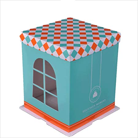 Fine 6 8 10 12 14 Inch Cake Packaging Box Heightening Double Cake Box Funny Birthday Cards Online Inifofree Goldxyz