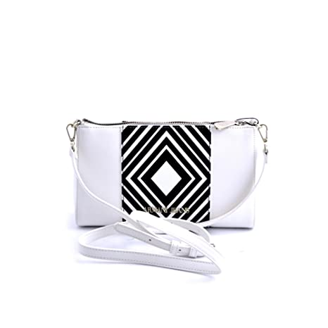 9c17a0e7aaac Armani Jeans shoulder bag woman Pvc Plastic white  Amazon.it  Valigeria