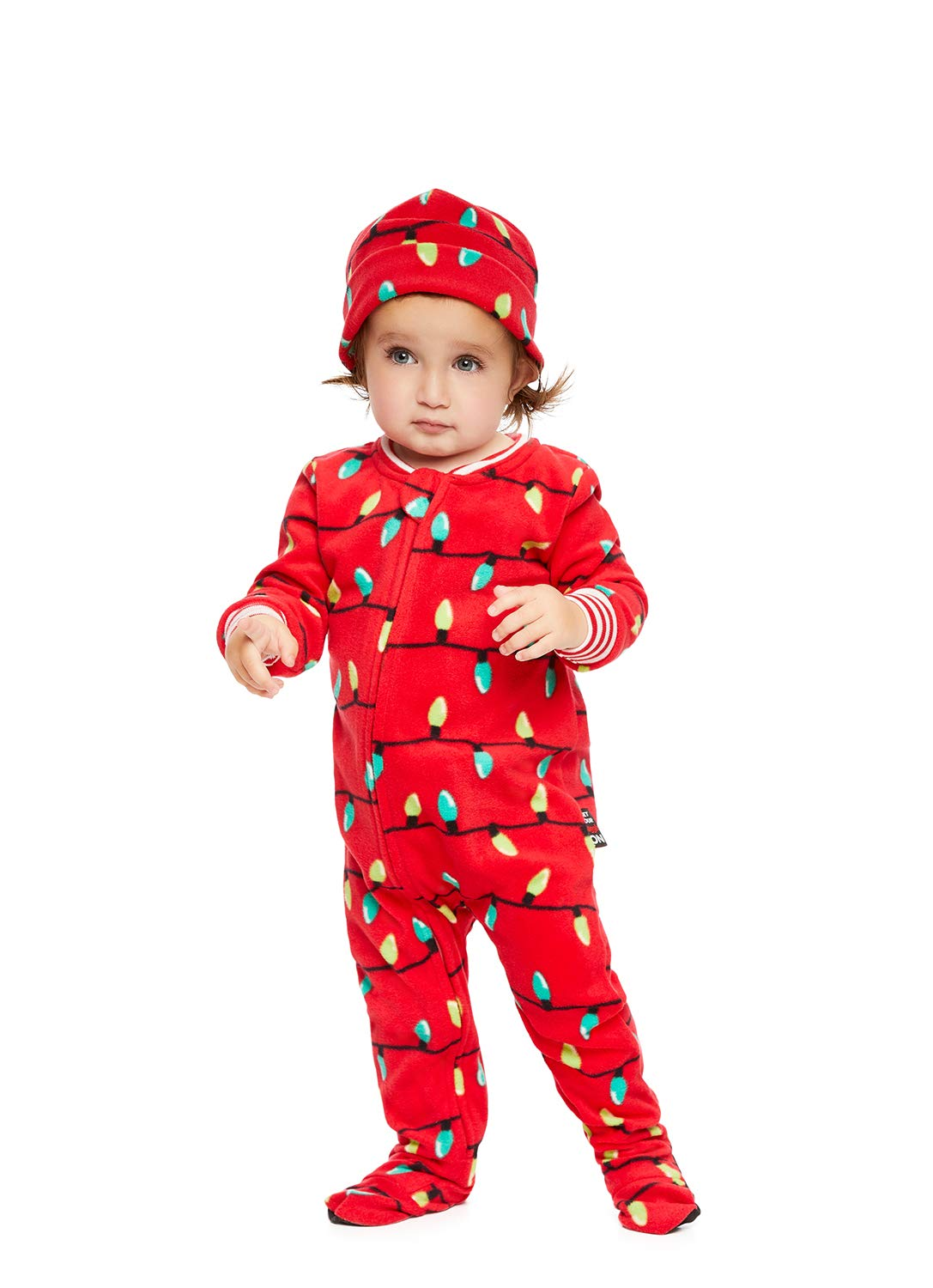 Family Holiday Merry Litmas Matching Pajamas | Baby Onesie Size 18 Jammin Jammies