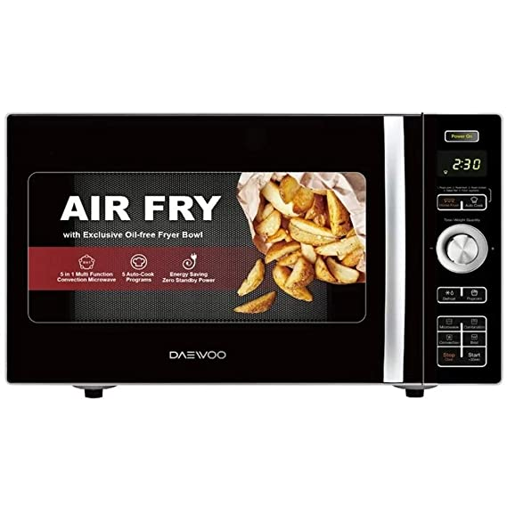 Amazon.com: Daewoo Air Freidora 0.9-cu ft 900 Watt Counter ...