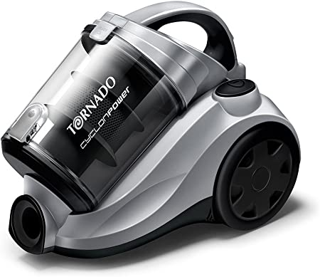 Tornado TO7810 CyclonPower - Aspirador sin bolsa (1800 W), color gris metalizado: Amazon.es: Hogar