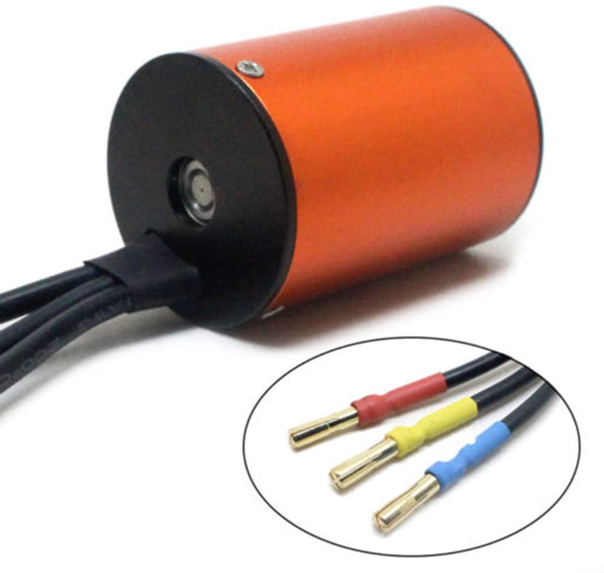 ukcoco Waterproof Brushless S3650/4300/KV Motor Brushless Sensorless Combined with 60/A ESC Speed Controller for 1//10/RC Car
