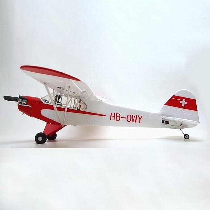 Amazon.com: Piper J-3 Cub V3 PNP con flotadores, 55.118 in ...