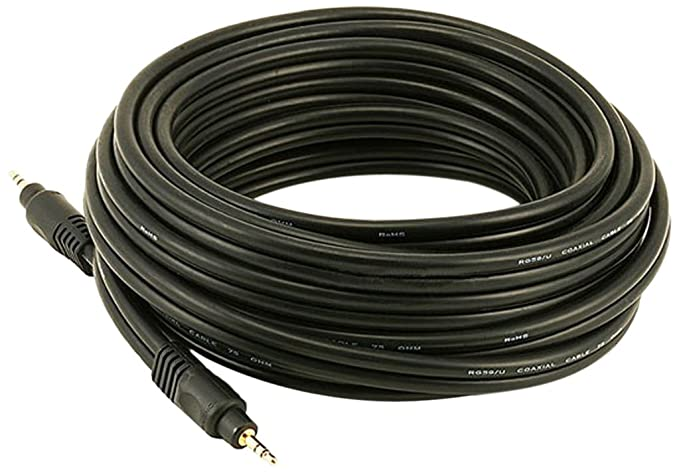 Amazon.com: Monoprice 105577 6-Feet Premium Stereo Male to Stereo Male 22AWG Audio Cable - Black: Home Audio & Theater