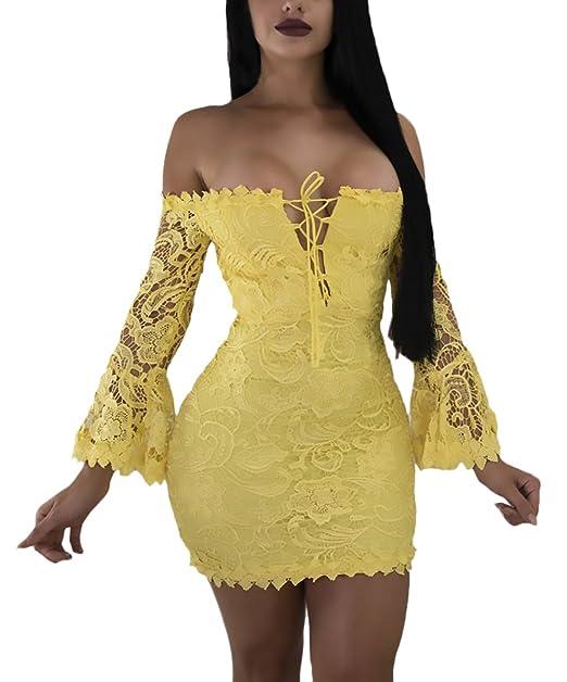 ... Halter Strappy Vestido Skinny Vestido Fiesta Vestidos La Rodilla Con Cordones Verein Paquete De Cadera Bandage Vestido: Amazon.es: Ropa y accesorios