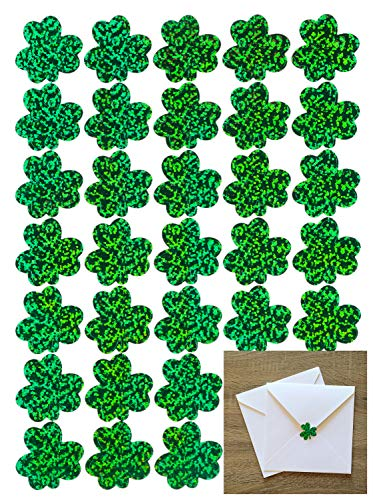 jollylife 525PCS St Patrick's Day Sticker Decorations Shamrock Party Favors - Invitations Patricks Day
