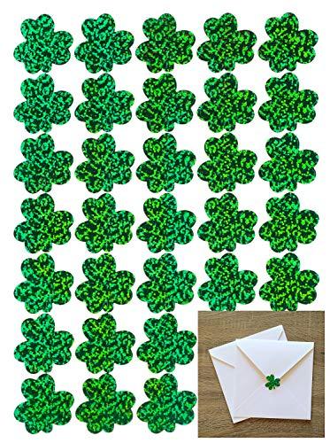 jollylife 525PCS St Patrick's Day Sticker Decorations Shamrock Party Favors - Calendar Shamrocks