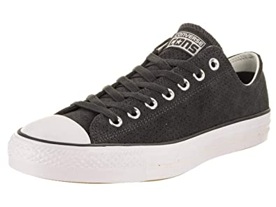 493b323e217b Image Unavailable. Image not available for. Color  Converse Unisex Chuck  Taylor All Star Pro Ox Almost Black Egret White Basketball Shoe