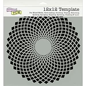 "Crafter's Workshop Templates 12""X12""-Solace"
