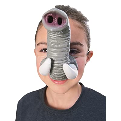 Rubie's Costume Co Elephant Nose with Tusks Costume: Toys & Games
