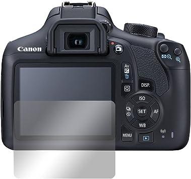 Slabo 2 x Protector de Pantalla para Canon EOS 1300D lámina ...
